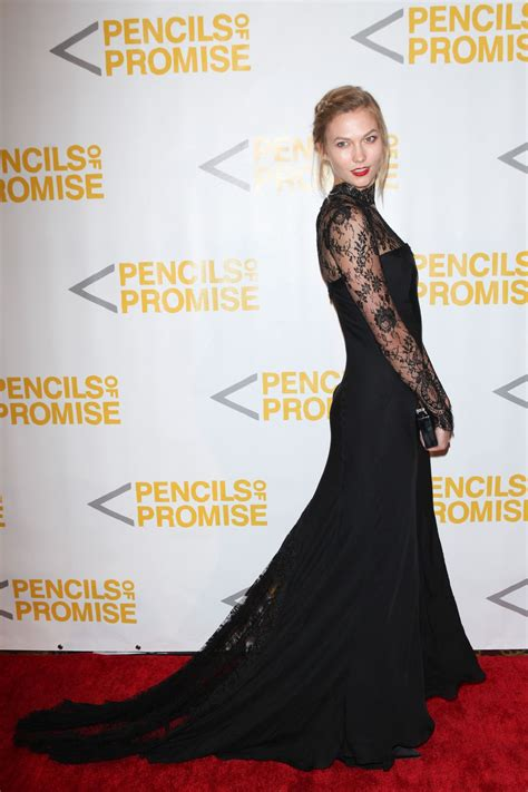 Karlie Kloss Pencils Promise Gala New York