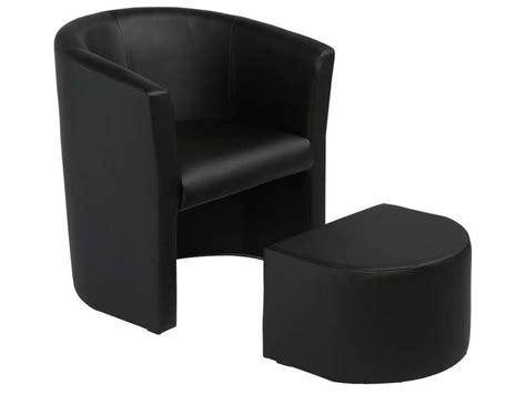 pouf noir pas cher cabriolet pouf manon coloris noir en pu vente de tous les fauteuils conforama
