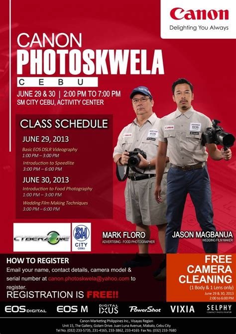 Free Photography Lesson In Cebu Offered By Canon Cebuimage