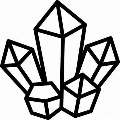 Crystal Crystals Icon Magic Healing Stone Magical