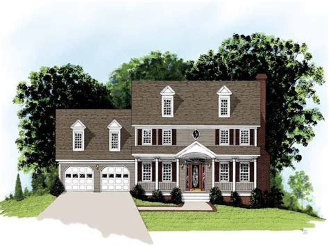 Federal House Plans by Eplans Adam Federal House Plan Simple