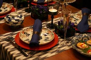 Japanese traditional style Table setting | Japanese ...