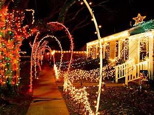 how to hang christmas lights diy With outdoor christmas lights for walkway