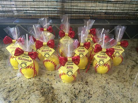 Summer Softball Goodies & Coach's Gift Mommynpsych