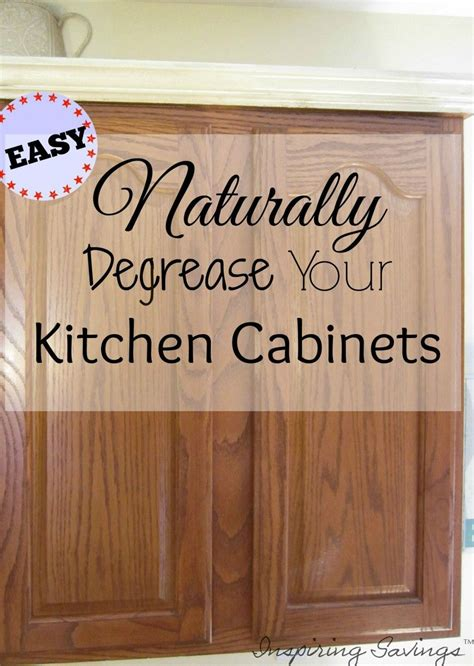 how to clean wood cabinets naturally how degrease your kitchen cabinets all naturally