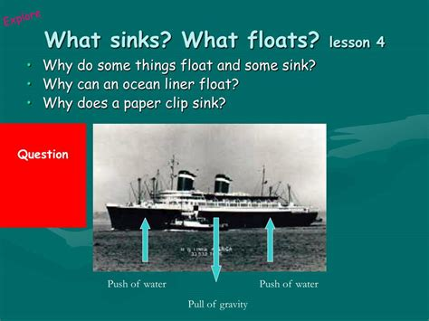 why do things sink or float ppt push pull powerpoint presentation id 488814