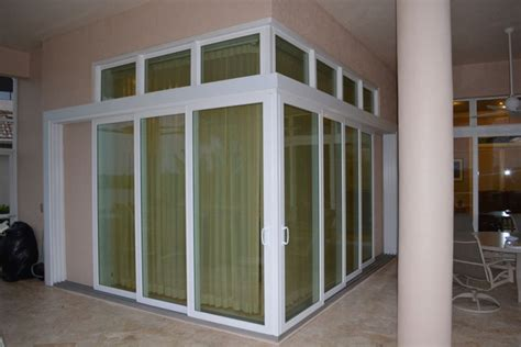 aluminum sliding doors rollshield hurricane protection
