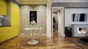 la chaise transparente une tendance moderne et originale With idee deco cuisine avec chaise salle a manger transparente