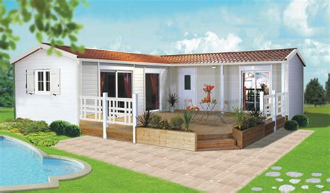 grand mobil home neuf 4 chambres chalets mhp loisirs