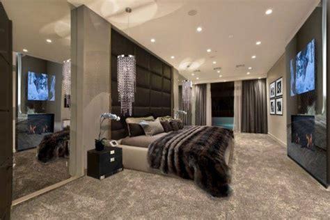 chambre fourrure décoration de chambre 55 idées de couleur murale et