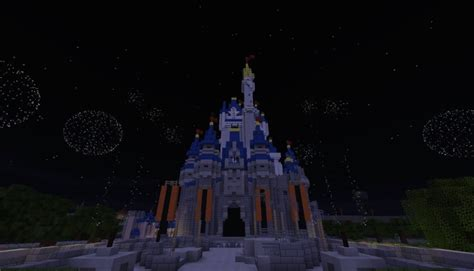 virtual magic kingdom unofficially reborn  minecraft