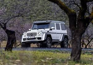 Prix 4x4 Mercedes : le mercedes g500 4x4 carr disponible au prix de 226 100 photo 13 l 39 argus ~ Gottalentnigeria.com Avis de Voitures