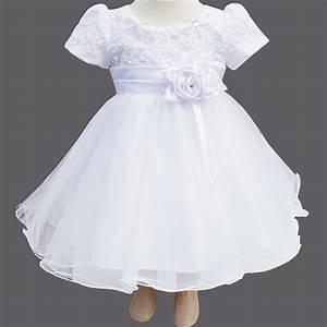robe de bapteme en voile brode fleurs en perles et tulle With robe pour bapteme fille