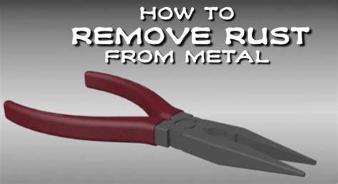 rust metal wikihow remove mild vinegar games