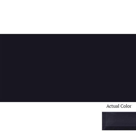 midnight black color color wave 3 quot x 6 quot white daltile