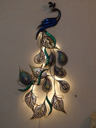 home decor products led peacock designer wall decor