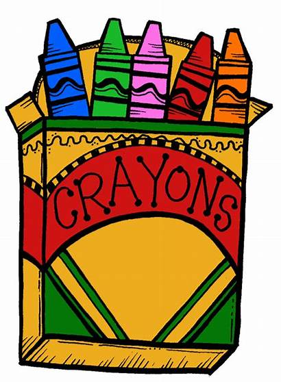 Clipart Crayon Crayola Clip Crayons Clipartion