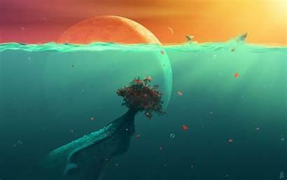 Deep Sea Ocean Planet Fish Wallpapertag