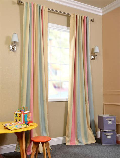ambrosia stripe blackout curtain contemporary curtains