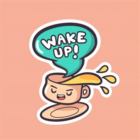 Also you can search for other artwork with our tools. Cute coffee cartoon hand drawn character sticker design Vector | Premium Download