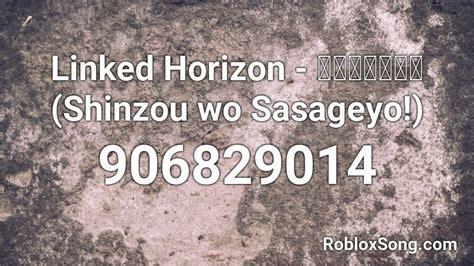 Use copy button to quickly get popular song codes. Linked Horizon - 心臓を捧げよ! (Shinzou wo Sasageyo!) Roblox ID - Roblox music codes