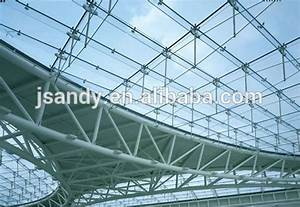 Aluminum Space Frame Glass Steel Dome Roof - Buy Steel ...