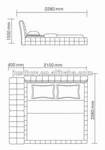 Dimension Couette 2 Personnes : dimension lit deux places standard table de lit ~ Melissatoandfro.com Idées de Décoration