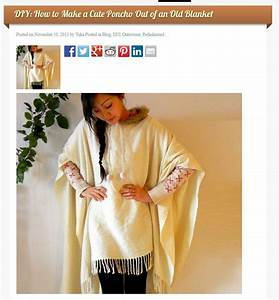 How Tosew A Poncho