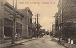 Bridge Street, looking West Belington, WV