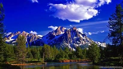 Windows Wallpapers Nature Mountain Sky Desktop Background