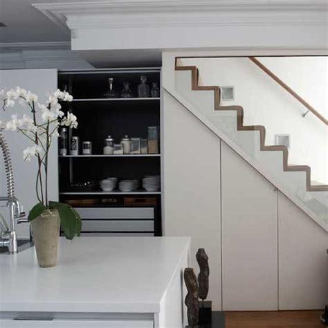 Storage Ideas For Small Kitchens - kitchen storage understairs