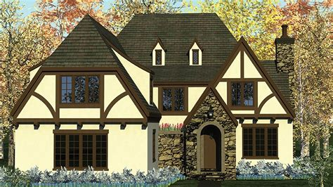 European Home with Tudor Detailing   17740LV   1st Floor