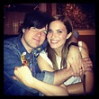 Mandy Moore cuddled for a photo with her husband, Ryan Adams. | Cute Candids Celebrities Shared ...