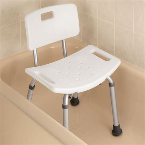 Bath Bench With Back Bath Chair With Back Easy Comforts