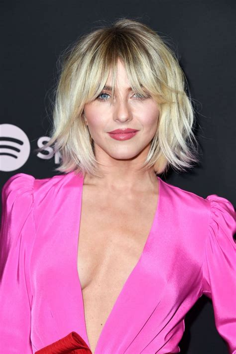 Julianne Hough Stunning In Sexy Pink Dress And Heels At Spotify Event Celeblr