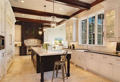 Winnetka Luxury Custom Home-traditional-kitchen