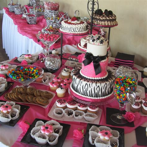 table decoration ideas for parties inexpensive table decorations chocolate party pink