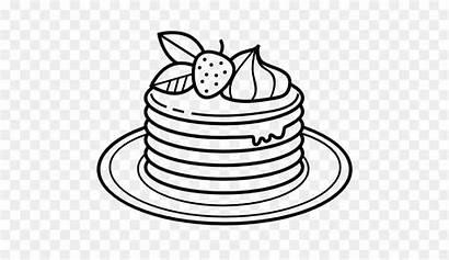 Colorear Dibujo Panqueque Libro Panqueques Coloring Pancakes
