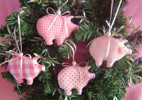 Skandinavische Weihnachtsdeko Nähen by Baumschmuck Stoff 4x Gl 252 Cksschweinchen Baumschmuck