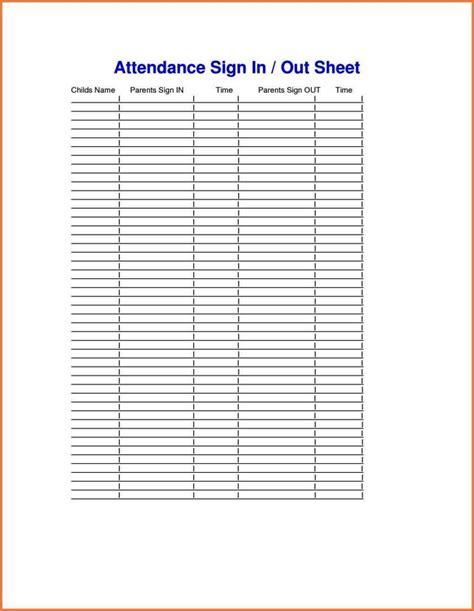 parent teacher conference sign  sheet template