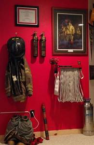 25 best ideas about firefighter room on pinterest With kitchen cabinets lowes with firefighter wall art