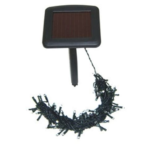 solar powered led lights 100 light string for the