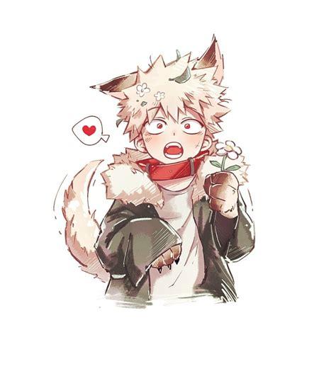 Boku No Hero Academia One Shots Au Werewolf Bakugou X