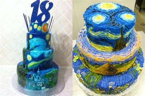 Top 10 Cake Art Designs Inspired by Famous Paintings
