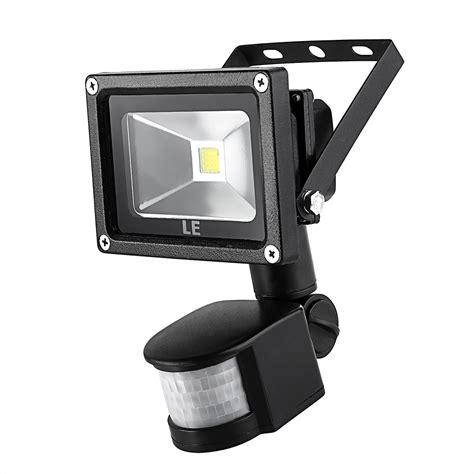 motion detector light 10w led floodlight with pir sensor daylight white