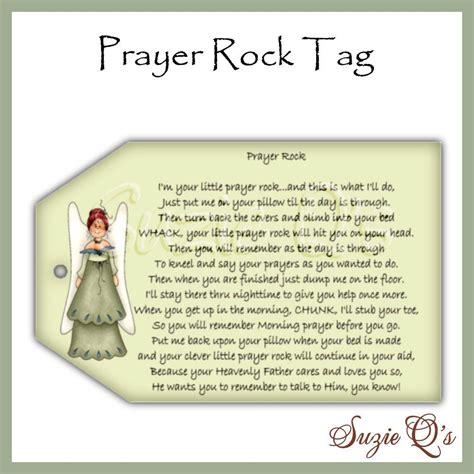 prayer rock tags digital printable   etsy