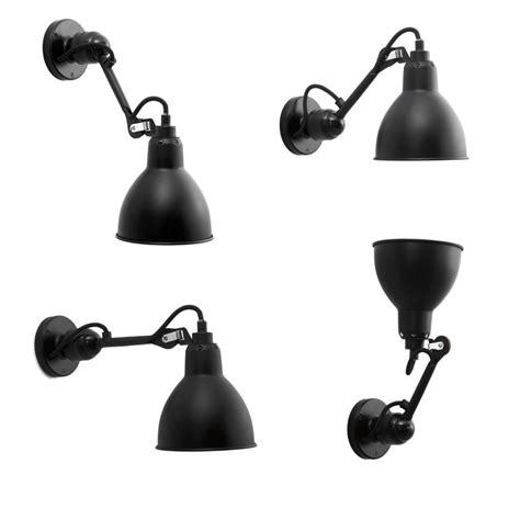 Einstellbare Gelenk-wandlampe N° 304 Mit Kurzem Wandarm