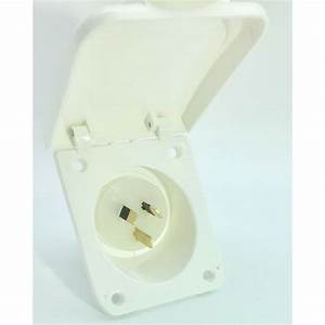 10 Amp Power Inlet For Caravan Motor Home And Rv 240v