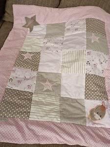 Patchworkdecke Selber Nähen : sch ne patchworkdecke f r m dchen babydecke von ~ Lizthompson.info Haus und Dekorationen