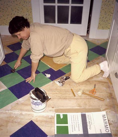 how to lay linoleum tile how to lay linoleum tile house